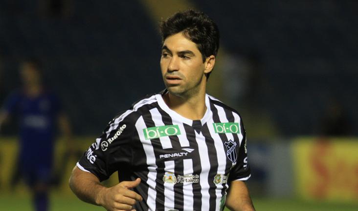Lateral Marcos foi um dos destaques do Vovô na Série B deste ano (FOTO: Divulgação/Cearasc)