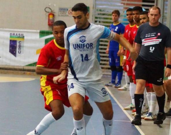 054da9d55b6f2 Cearense acerta com clube da liga espanhola de futsal