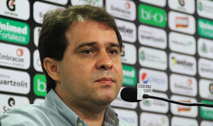 Evandro Leitão anunciou que irá anunciar o camisa 100 para a temporada na próxima quarta-feira (23), na partida final do Cearense (FOTO: Divulgação/CearaSC.com)