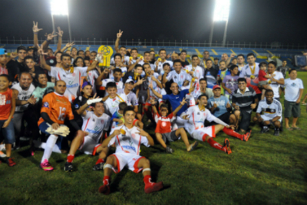 América comemorando o título da Série C do Campeonato Cearense
