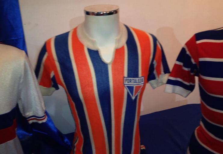 Camisa do Fortaleza usada nos anos 70