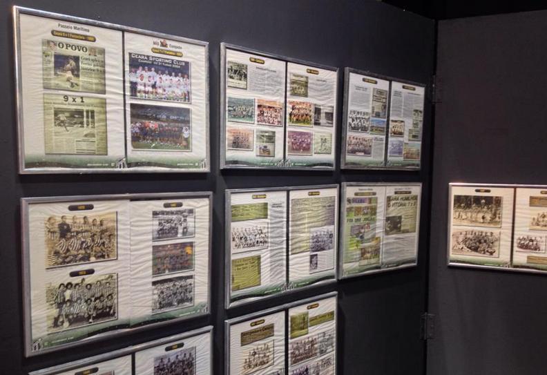 A exposição conta com registros da imprensa Foto: Caio Costa