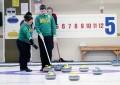 Raphael Monticello é campeão da Copa Brasil de Curling na categoria duplas (FOTO: Divulgação)