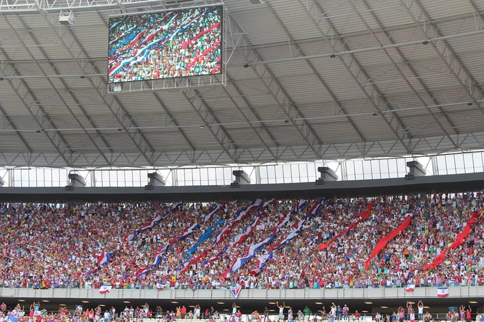Torcedor tricolor, assim como no jogo em Maceió, não terá carga de ingressos a sua disposição.(Foto: Nodge Nogueira/Fortalezaec.net)