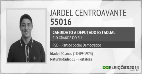 Centroavante Jardel agora busca sucesso no campo político. (Foto: Eleições 2014)