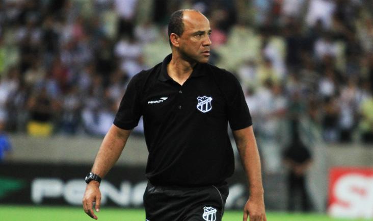 Sérgio Soares dirigiu o Ceará na 24ª rodada da Série B (FOTO: Divulgação/CearaSC.com)