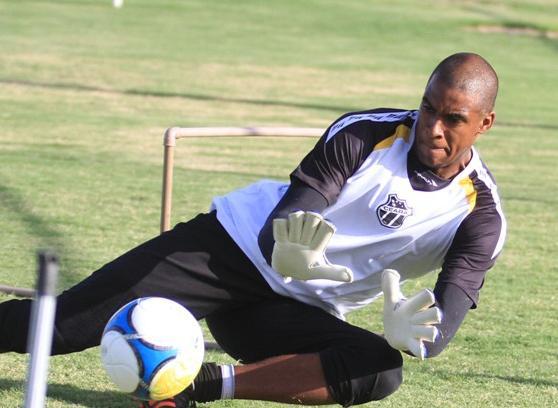 O goleiro Jaílson jogou 25 partidas neste com a camisa do Ceará (FOTO: Divulgação/CearaSC.com)
