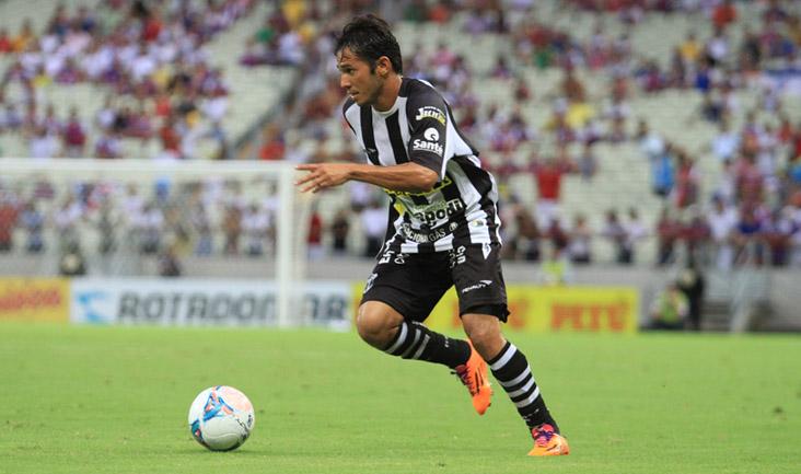 Após 28 partidas sem fazer gol pelo Vovô, o camisa 9 desencanto (Foto: Divulgação/CearaSC.com)