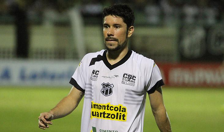 Ricardinho atuou de forma mais ofensiva na partida contra o Atlético-GO (FOTO: Christian Alekson/CearaSC.com)