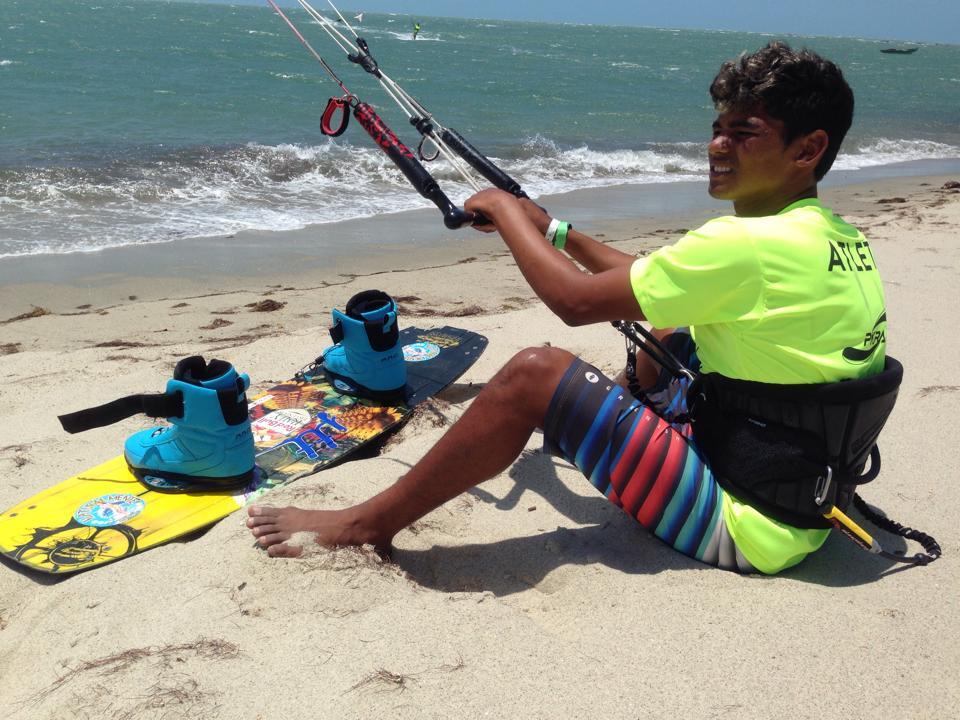 Carlos Mario ainda tinha 16 anos quando venceu o Circuito Brasileiro (FOTO: arquivo pessoal)