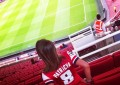 Goonerette no Emirates Stadium