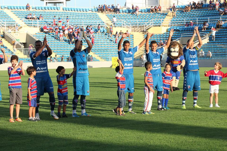 O time tricolor venceu o Maranguape em um amistoso realizado no PV (FOTO: Divulgação/Nodge Nogueira)
