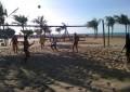 Modalidade vem crescendo e tomando conta das areias de Fortaleza (Foto: Arleudo de Souza/Reprodução)