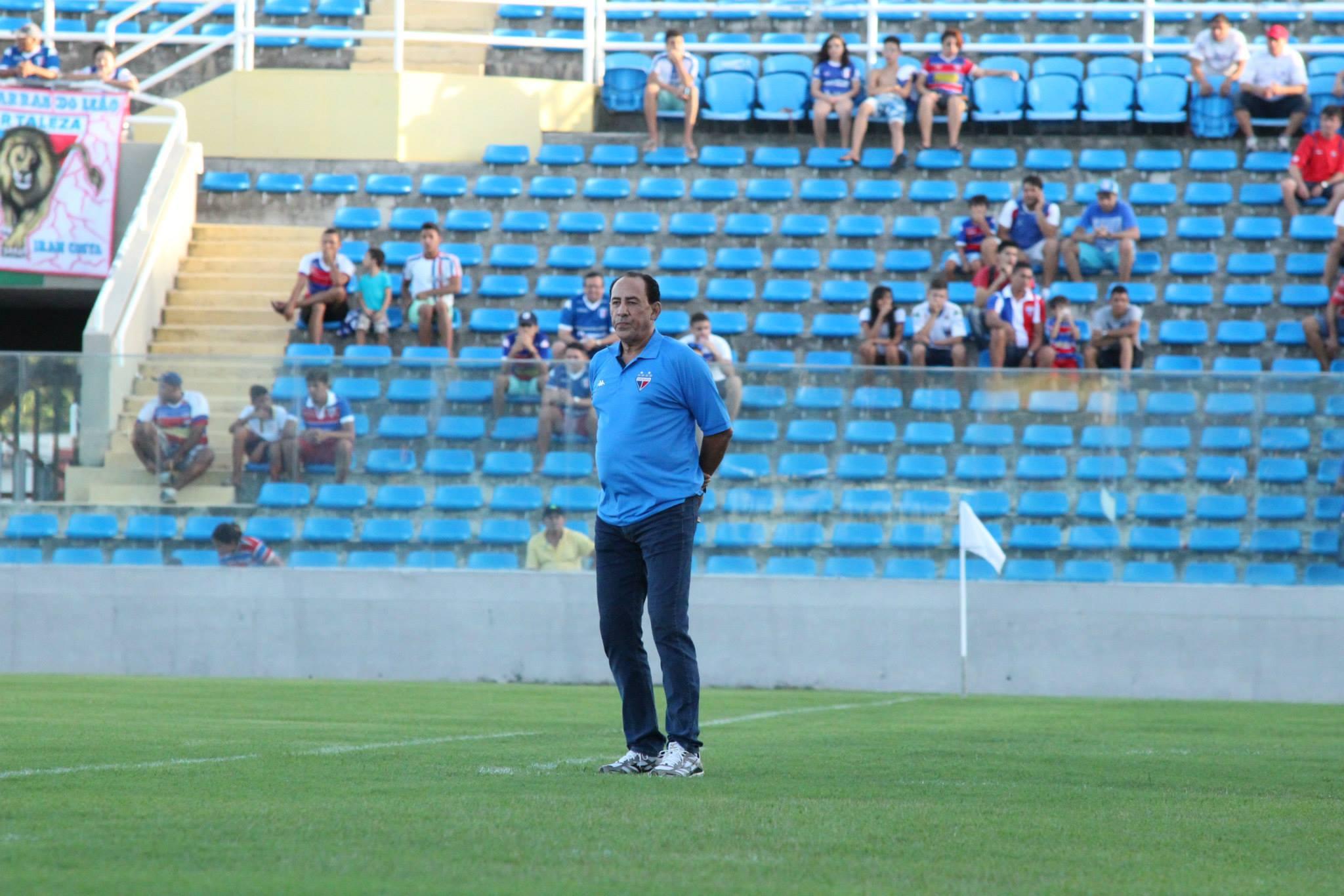 Nedo Xavier não conseguiu vencer na reestreia pelo Fortaleza (FOTO: Divulgação/Fortaleza)