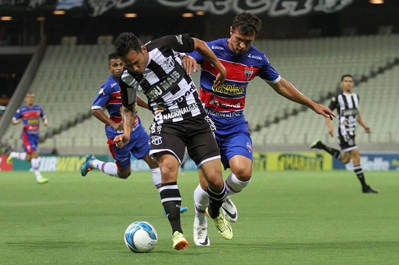 Apesar de não ter treinado no time titular, Assisinho deve ser titular no ataque do Ceará. (Foto: Divulgação/CearáSC)