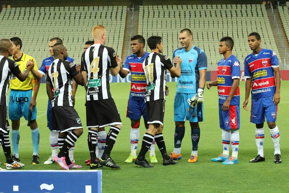 Vovô e Leão se encontram novamente na Arena Castelão (FOTO: divulgação)