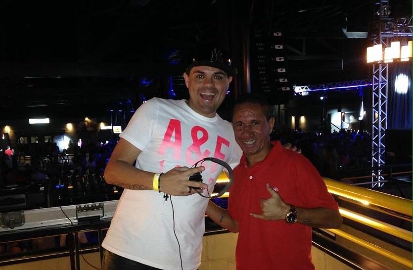 DJ Caio e Clodoaldo se tornaram amigos depois da criação da música (FOTO: arquivo pessoal)