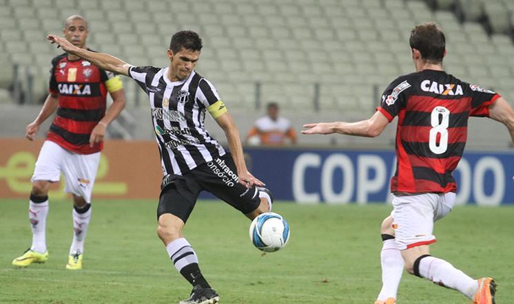 Magno Alves é o artilheiro do Ceará na Copa do Nordeste, dono de cinco gols (FOTO: divulgação/CearaSC.com)