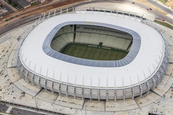 O Castelão tem capacidade para 63.910 pessoas (FOTO: divulgação)