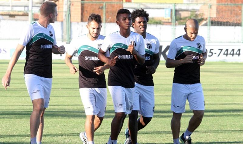 Ceará treinou pela última vez antes do jogo contra Paysandu/PA (Foto: Divulgação/Cearasc.com)