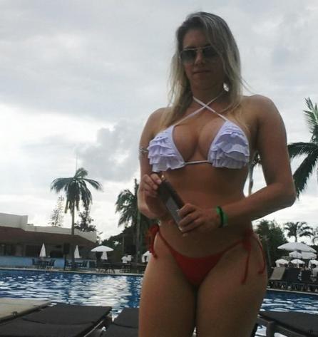 Grasiani Silva é uma das candidatas possíveis a musa do Ceará (FOTO: reprodução/uol.com.br)