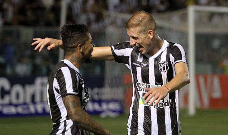 Marinho marcou mais uma vez no PV (FOTO: Christian Alekson/CearaSC.com)