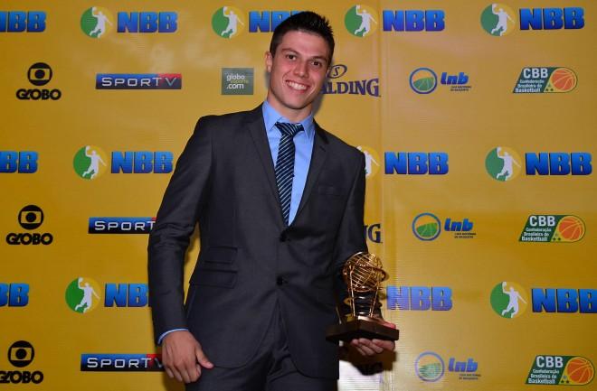 O atual capitão Davi Rossetto fez sua terceira temporada pelo Basquete Cearense (FOTO: João Pires/LNB)