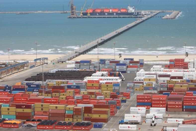 O porto do Pecém é a principal atração do município de São Gonçalo (Foto: divulgação)