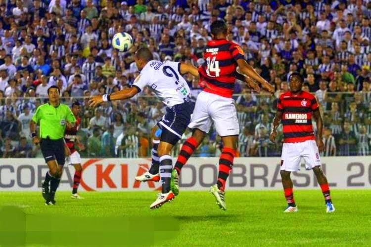 Em 2011, o Ceará eliminou o Flamengo nas quartas (Foto: divulgação/CearaSC.com)