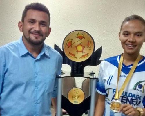 Artilheira do Campeonato Cearense revela sonho de chegar à Seleção Brasileira