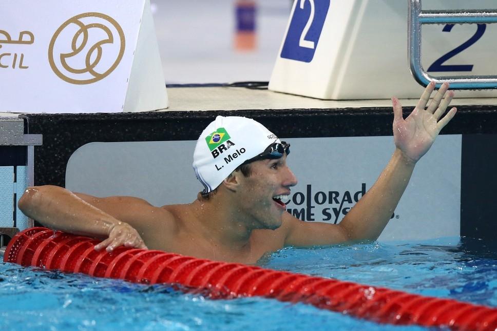 Luiz Altamir, que ganhou a prata nos Jogos Olímpicos da Juventude, estreou com pódio dourado no Pan (Foto: divulgação)