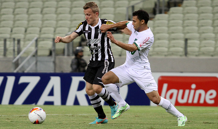 Alex Amado entrou no segundo tempo da partida (Foto: Christian Alekson/cearasc.com)