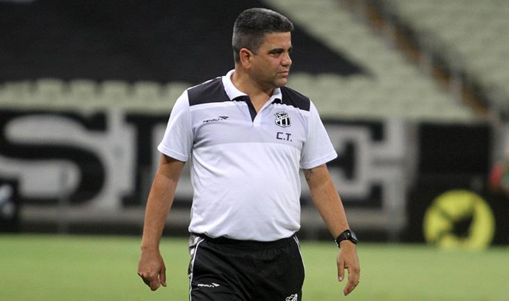 Marcelo Cabo lamentou as chances desperdiçadas pelo Vovô (Foto: Christian Alekson/cearasc.com)