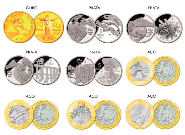 O Banco Central disponibiliza alguns modelos para venda (Foto: divulgação)
