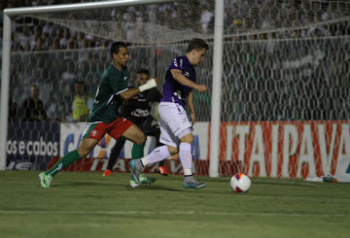 Alex Amado marcou seu primeiro gol pelo Ceará (Foto: Christian Alekson / cearasc.com)
