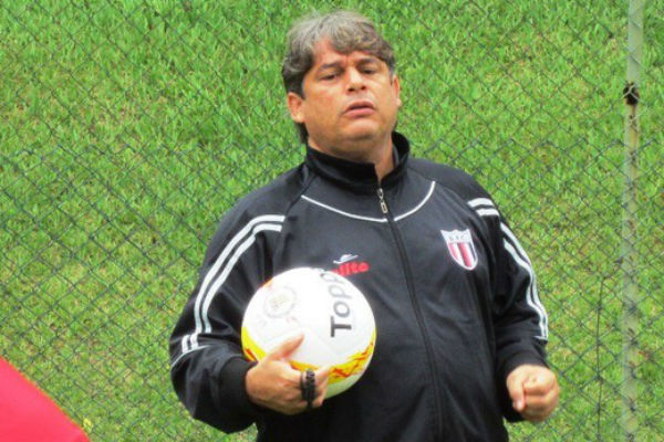 Veiga conseguiu o acesso com o time do interior paulista (Foto: Rafael Martinez/Ag. Botafogo)