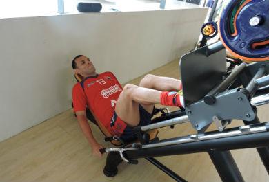 O zagueiro Adalberto é um dos mais experientes da equipe (Foto: Divulgação/FortalezaEC)