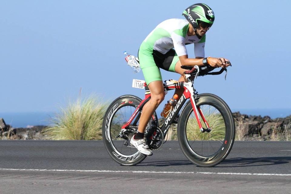 Elano Ribeiro fez o Iron em 10h10min (Foto: arquivo pessoal)