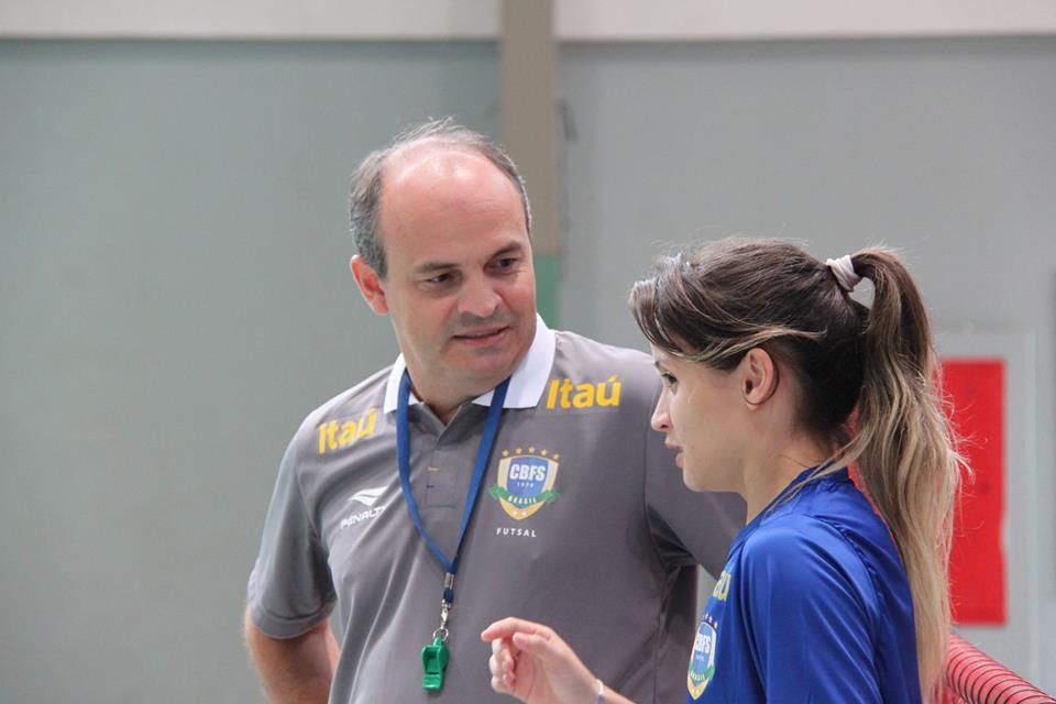 Wilson Saboia e Amandinha tentarão conquista o hexa para o Brasil (FOTO: Naiara Gresta/CBFS)