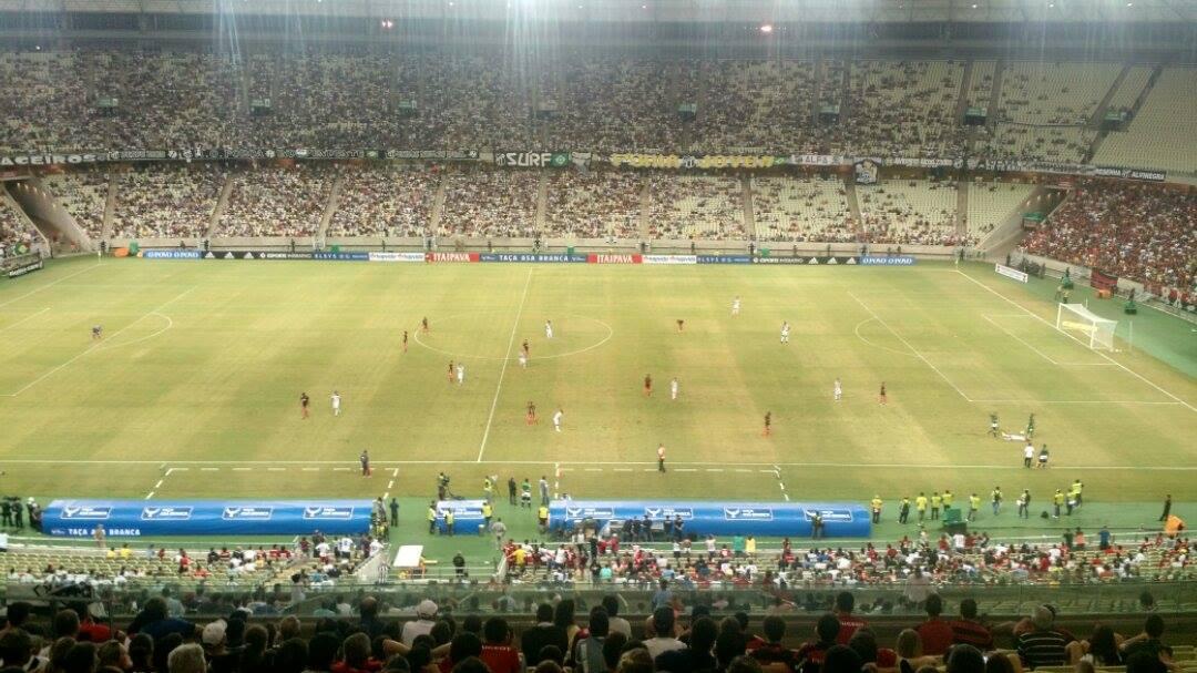 Ceará e Flamengo decidiram a Taça Asa Branca (FOTO: Lyvia Rocha/Tribuna do Ceará)