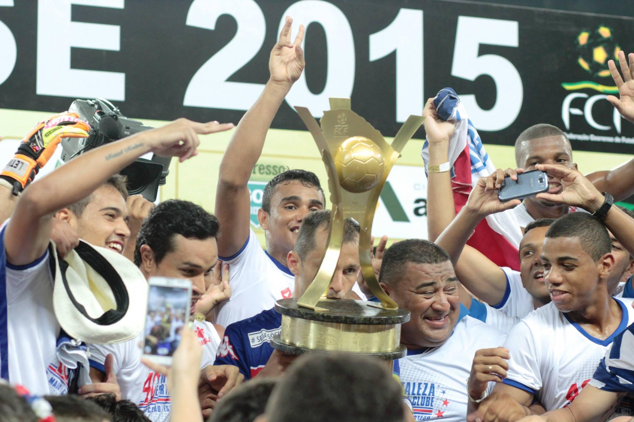 O Fortaleza foi campeão ao empatar com o Ceará em 2 a 2 (FOTO: Nodge Nogueira)
