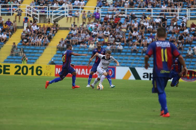 Alex Amado fez o primeiro gol do Vovô no Estadual (FOTO: Christian Alekson/Cearasc.com)