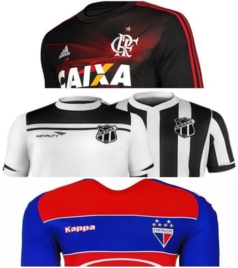 O Flamengo lidera o ranking de venda de camisas no Estado (FOTO: Divulgação)