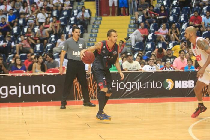 Duda Machado foi o cestinha da partida com 23 pontos (Foto: LC Moreira/Divulgação)