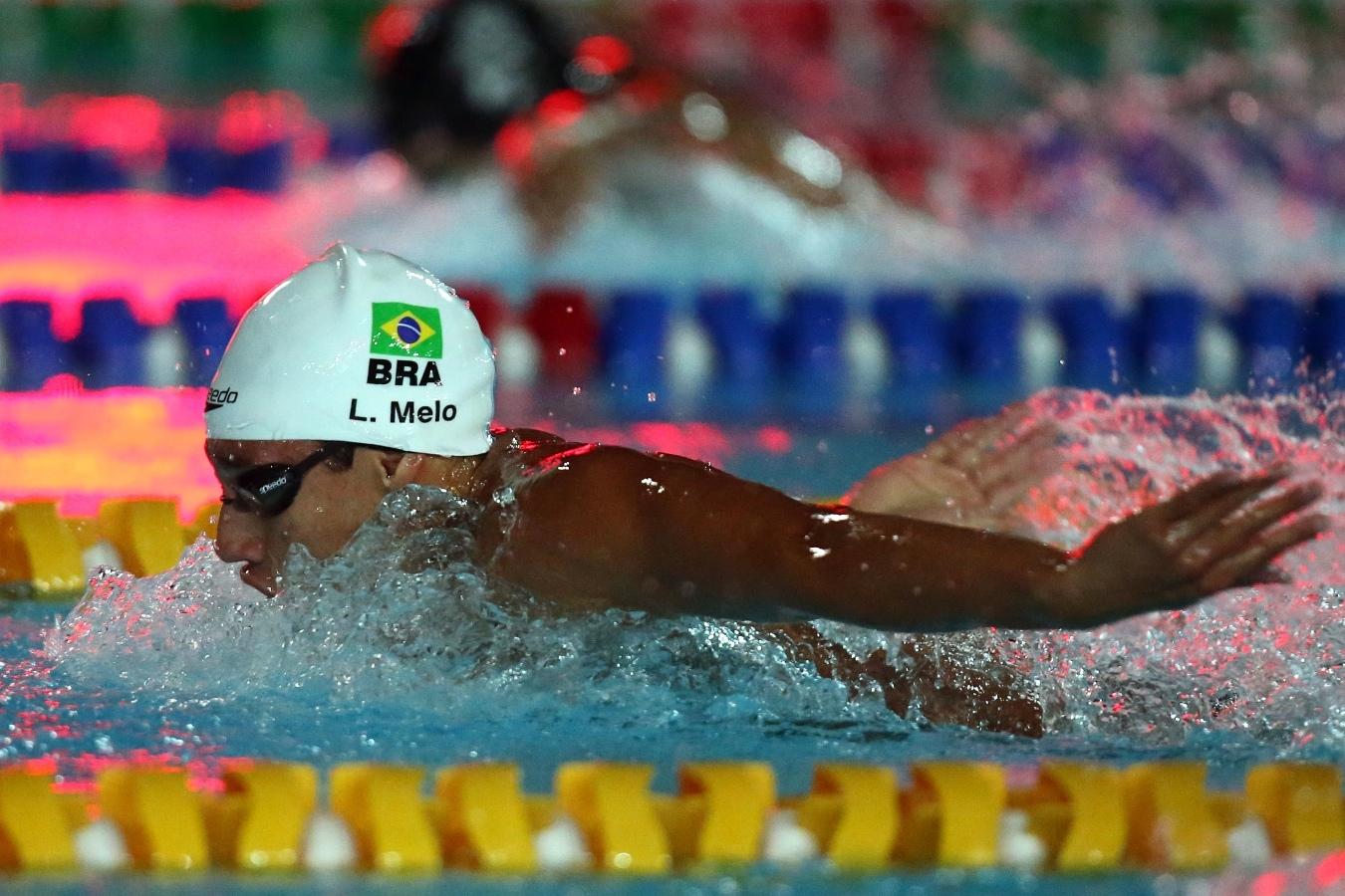 Luiz Altamir tentará também vaga nos 200 metros borboleta (Foto: Satiro Sodre/SSPress)