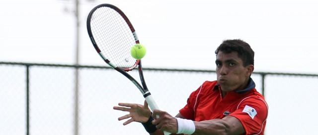 Thiago Monteiro bateu o número 9 do mundo, o francês Tsonga (Foto: Divulgação)