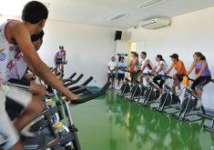 Aerobike é uma das atividades esportivas praticadas no Dia Fitness (FOTO: Divulgação)