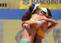 Larissa e Talita enfrentarão norte-americanas na final do Circuito Mundial (FOTO: Matheus Vidal/CBV)