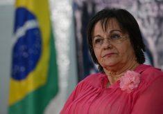 Maria da Penha, farmacêutica de 70 anos, é líder de movimentos em defesa dos direitos das mulheres. (FOTO: Agência Brasil)