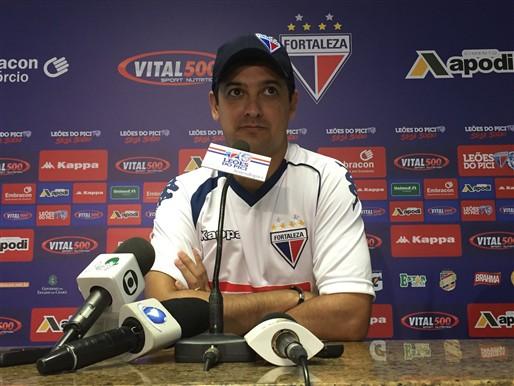 Marquinhos Santos comemora 100 dias no Fortaleza e mira acesso à Série B